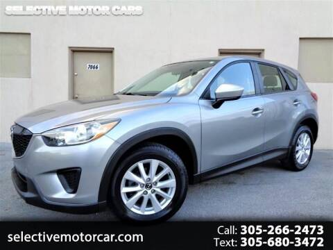 2014 Mazda CX-5 for sale at Selective Motor Cars in Miami FL