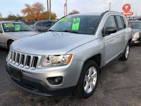 2011 Jeep Compass for sale at RJ AUTO SALES in Detroit MI