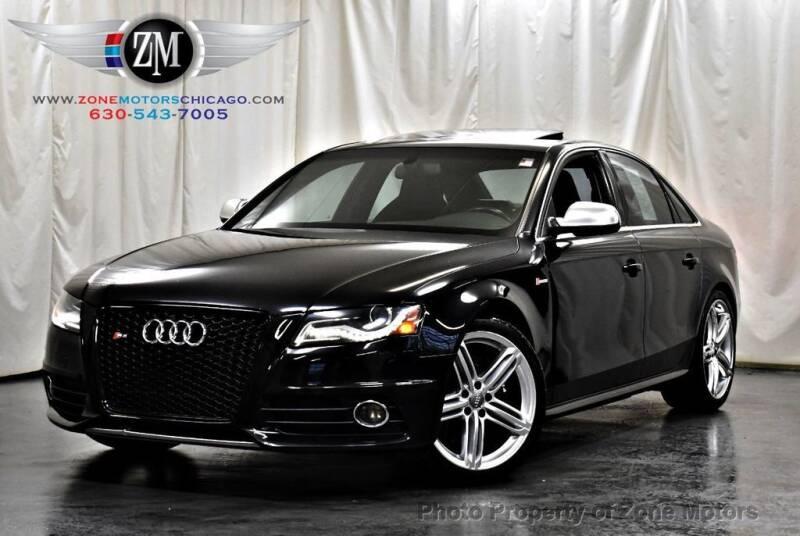 2010 Audi S4 for sale at ZONE MOTORS in Addison IL