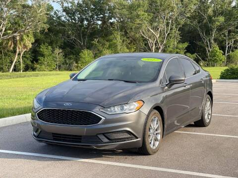 2017 Ford Fusion for sale at GENESIS AUTO SALES in Port Charlotte FL