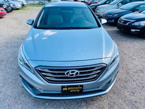 2015 Hyundai Sonata for sale at Good Auto Company LLC in Lubbock TX