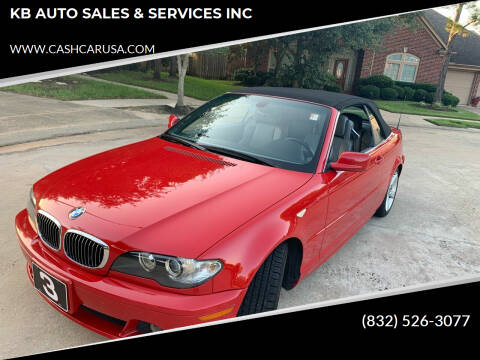 2004 BMW 3 Series for sale at KB AUTO SALES & SERVICES INC in Houston TX