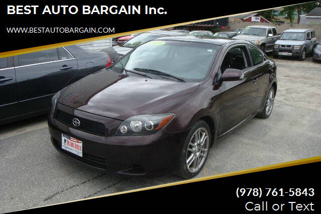 2010 Scion tC for sale at BEST AUTO BARGAIN inc. in Lowell MA