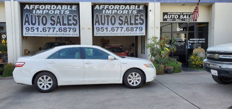 2009 Toyota Camry Hybrid for sale at Affordable Imports Auto Sales in Murrieta CA