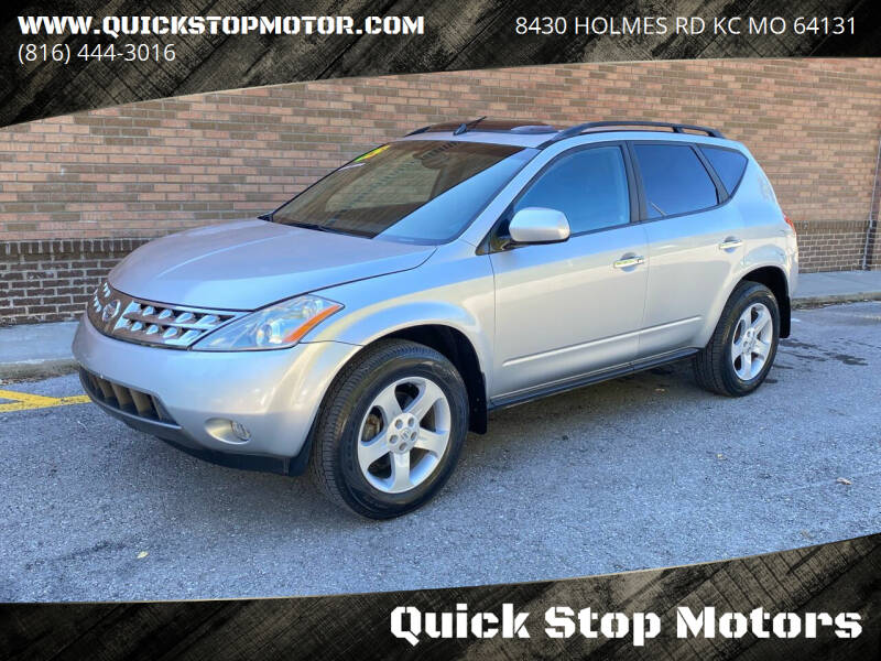 2005 Nissan Murano for sale at Quick Stop Motors in Kansas City MO