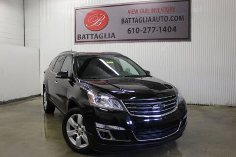 2016 Chevrolet Traverse for sale at Battaglia Auto Sales in Plymouth Meeting PA