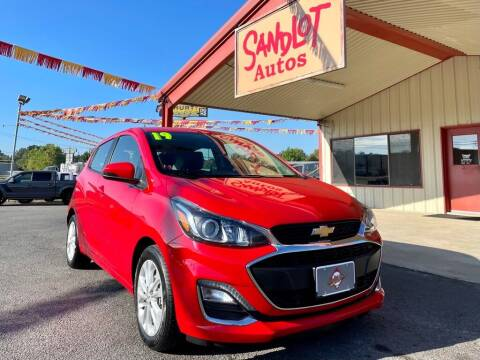 2019 Chevrolet Spark for sale at Sandlot Autos in Tyler TX