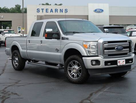2016 Ford F-250 Super Duty for sale at Stearns Ford in Burlington NC