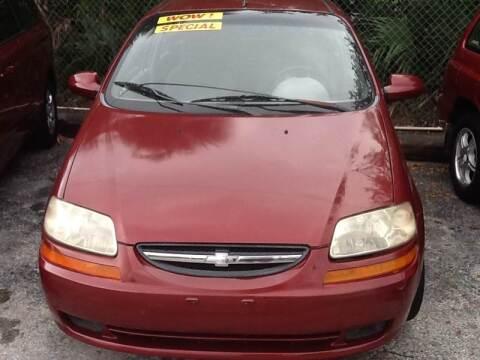 2004 Chevrolet Aveo for sale at Easy Credit Auto Sales in Cocoa FL