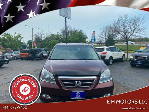 2007 Honda Odyssey for sale at E H Motors LLC in Milwaukee WI