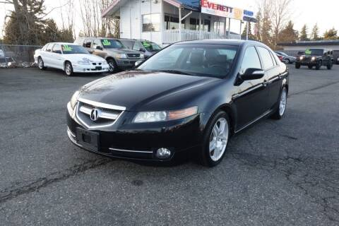 2008 Acura TL for sale at Leavitt Auto Sales and Used Car City in Everett WA