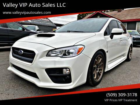 2017 Subaru WRX for sale at Valley VIP Auto Sales LLC in Spokane Valley WA