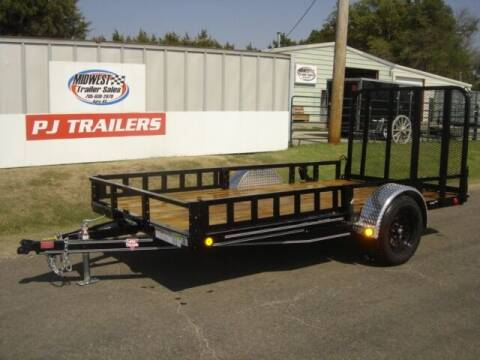 2021 77 X12 PJ U7 for sale at Midwest Trailer Sales & Service in Agra KS