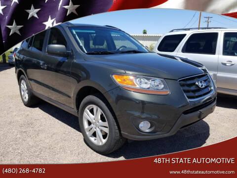 2010 Hyundai Santa Fe for sale at 48TH STATE AUTOMOTIVE in Mesa AZ