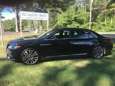 2017 Lincoln Continental for sale at McLaughlin Motorz in North Muskegon MI