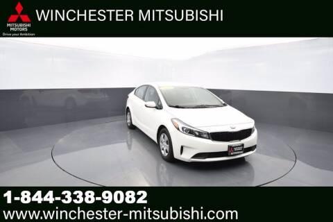 2018 Kia Forte for sale at Winchester Mitsubishi in Winchester VA