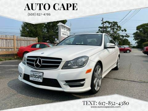 2014 Mercedes-Benz C-Class for sale at Auto Cape in Hyannis MA
