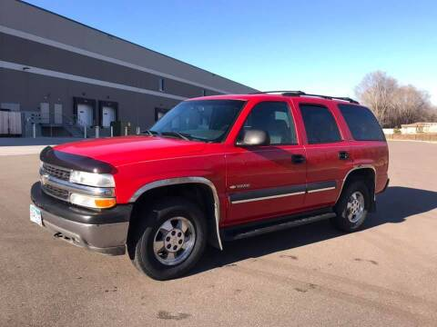 2002 Chevrolet Tahoe for sale at Angies Auto Sales LLC in Newport MN