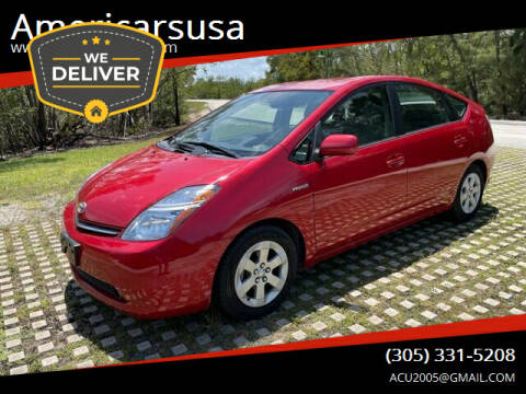 2006 Toyota Prius for sale at Americarsusa in Hollywood FL