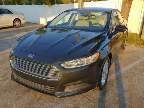 2015 Ford Fusion for sale at Autos by Tom in Largo FL