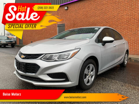 2017 Chevrolet Cruze for sale at Boise Motorz in Boise ID