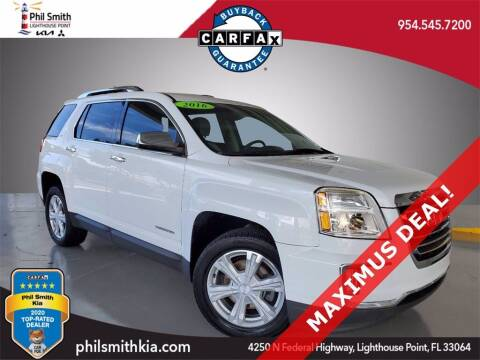 2016 GMC Terrain for sale at PHIL SMITH AUTOMOTIVE GROUP - Phil Smith Kia in Lighthouse Point FL