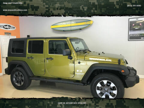 2007 Jeep Wrangler Unlimited for sale at Jeep and Truck USA in Tampa FL