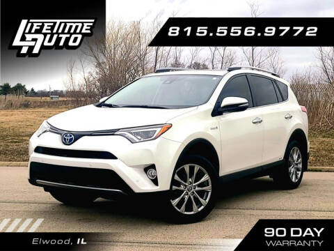 2017 Toyota RAV4 Hybrid for sale at Lifetime Auto in Elwood IL