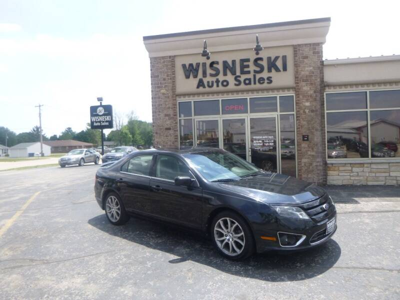 2010 Ford Fusion for sale at Wisneski Auto Sales, Inc. in Green Bay WI