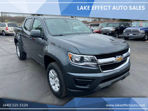 2016 Chevrolet Colorado for sale at Lake Effect Auto Sales in Chardon OH