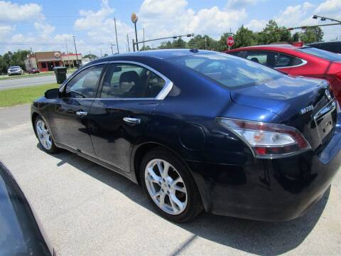 2012 Nissan Maxima for sale at Downtown Motors in Milton FL