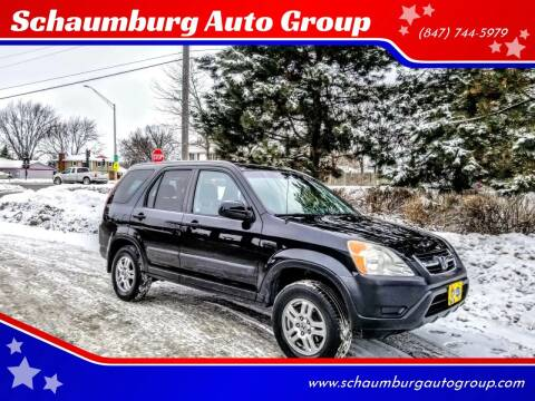 2002 Honda CR-V for sale at Schaumburg Auto Group in Schaumburg IL