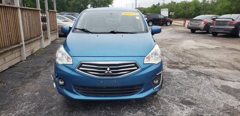 2017 Mitsubishi Mirage G4 for sale at Anthony's Auto Sales of Texas, LLC in La Porte TX
