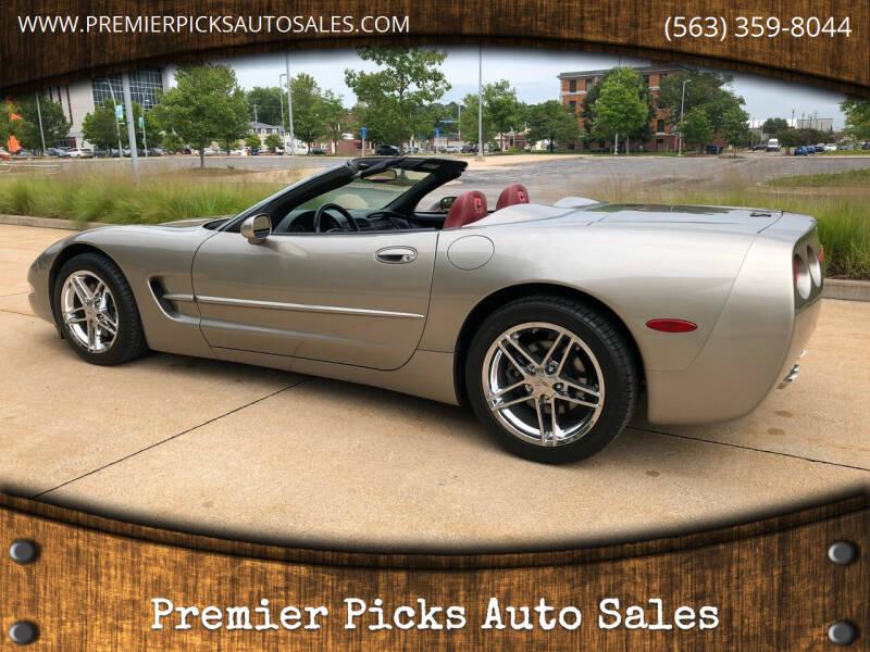 1998 Chevrolet Corvette for sale at Premier Picks Auto Sales in Bettendorf IA