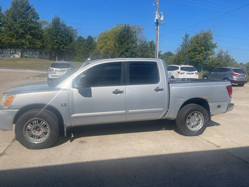 2004 Nissan Titan for sale at Truck and Auto Outlet in Excelsior Springs MO