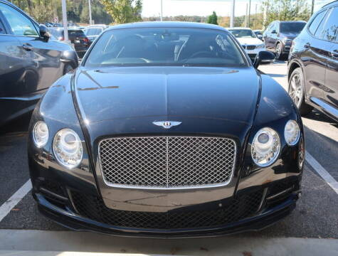 2012 Bentley Continental for sale at Southern Auto Solutions - Georgia Car Finder - Southern Auto Solutions - BMW of South Atlanta in Marietta GA