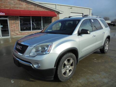 2012 GMC Acadia for sale at US PAWN AND LOAN in Austin AR