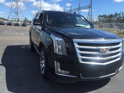 2016 Cadillac Escalade for sale at Texas Luxury Auto in Houston TX