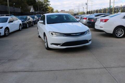 2016 Chrysler 200 for sale at F & M AUTO SALES in Detroit MI
