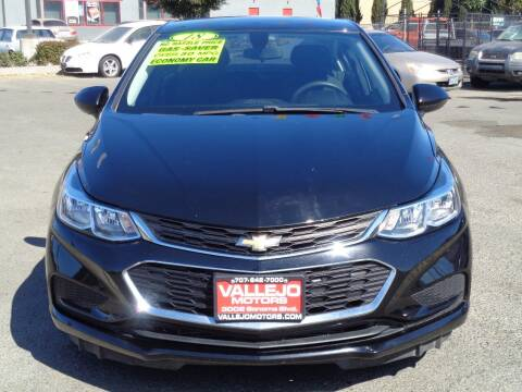 2018 Chevrolet Cruze for sale at Vallejo Motors in Vallejo CA