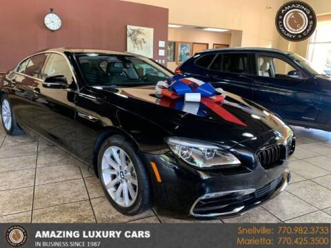 2016 BMW 6 Series for sale at Amazing Luxury Cars in Snellville GA