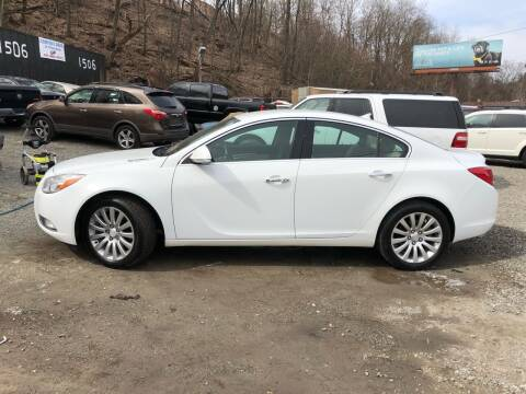 2012 Buick Regal for sale at Compact Cars of Pittsburgh in Pittsburgh PA