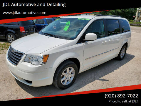 2010 Chrysler Town and Country for sale at JDL Automotive and Detailing in Plymouth WI