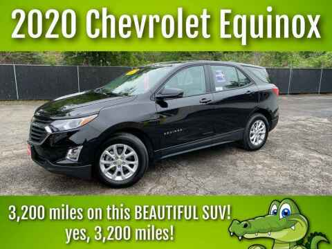 2020 Chevrolet Equinox for sale at LIQUIDATORS in Houston TX