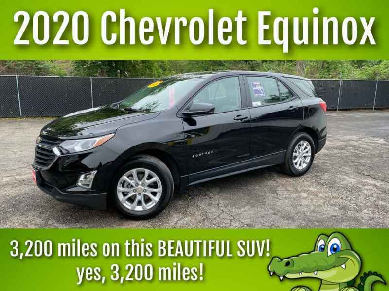 2020 Chevrolet Equinox for sale at LIQUIDATORS in Houston TX