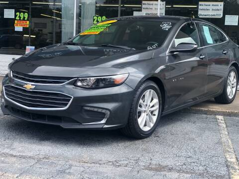 2017 Chevrolet Malibu for sale at Apex Knox Auto in Knoxville TN