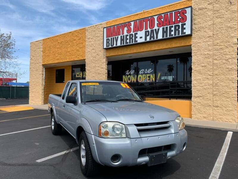 2003 Nissan Frontier for sale at Marys Auto Sales in Phoenix AZ