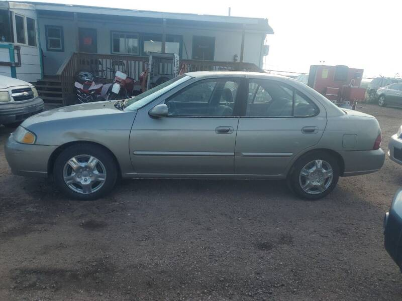 2003 Nissan Sentra for sale at PYRAMID MOTORS - Fountain Lot in Fountain CO