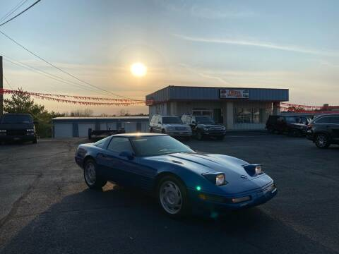 1992 Chevrolet Corvette for sale at FIESTA MOTORS in Hagerstown MD