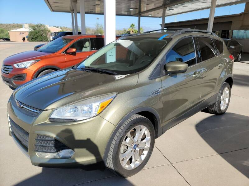 2013 Ford Escape for sale at Carzz Motor Sports in Fountain Hills AZ